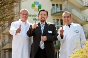 Die Klinikleitung der Dr. Becker Heinrich Mann Klinik freut sich über das gute Abschneiden seiner Klinik im Ranking der Deutschen Rentenversicherung.