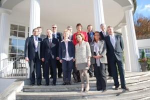 Gruppenfoto zum Festakt 100 Jahre Klinik Hohenlohe