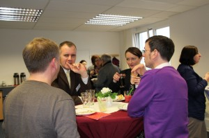 Impressionen vom diesjährigen Neujahrempfang der Berufshelfer in der Akademie Mainz