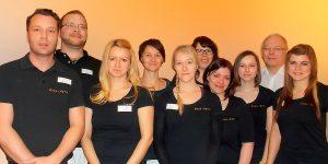 Das Team von Hand-Aktiv in Leipzig.
