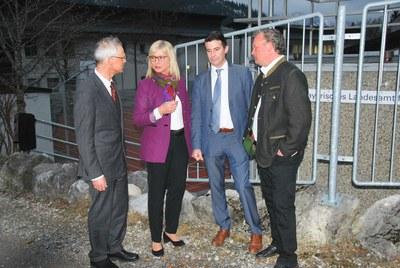 Die beste Luft Bayerns - Umweltministerin Scharf war zu Besuch in Oberjoch
