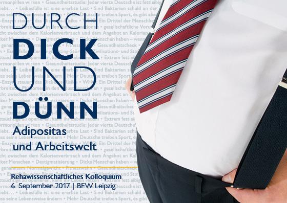 Das Motiv des diesjährigen Reha-Kolloquiums im BFW Leipzig