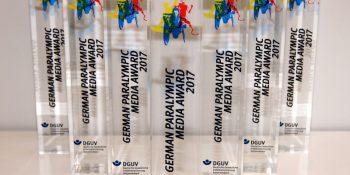 Die German Paralympic Media Awards 2017. (Foto: Jan-Peter Schulz / DGUV)