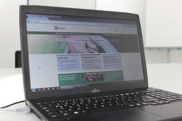 Verbesserte Nutzerfreundlichkeit und modernes Design: Neue Homepage der Deutschen Vereinigung für Rehabilitation (DVfR)