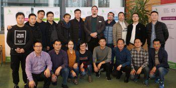 Chinesische Lehrerdelegation mit BFW-Sprecher Andre Stiefenhofer