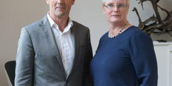 Wolfgang K. Hoever und Susanne Leciejewski bei der gemeinsamen Pressekonferenz. (Foto: salvea)