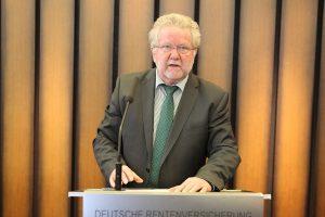 Vorstandsvorsitzender Alfons Eilers präsentierte den Bericht des Vorstandes.