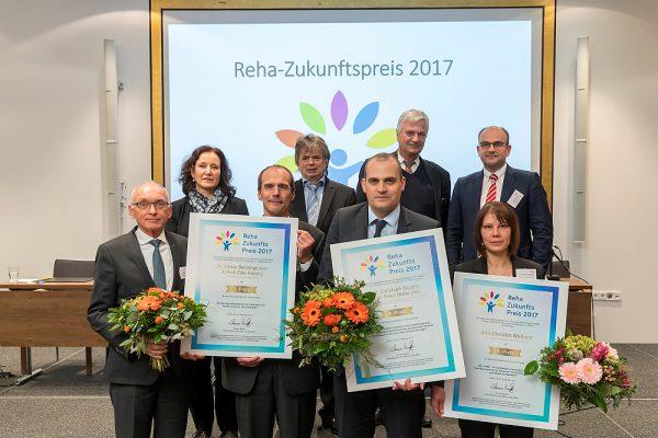 Reha-Zukunftspreis-Verleihung 2017 auf der IQMG-Jahrestagung in Berlin