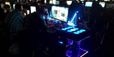 DreamHack 2017: Voller Spielgenuss für die 1.500 Gamer auch durch den Support des Teams von Umschülern aus dem BFW Leipzig. © M. Lindner, BFW Leipzig