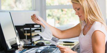 Ein gefragter Beruf: Steuerfachangestellte. Die Umschulung bietet das BFW Leipzig an. © monkeybusinessimages/Thinkstockphotos