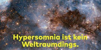Kampagnenmotiv Hypersomnia: ESA/Hubble & NASA