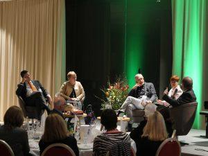 v.links: Dr. Freek Lapré, Dr.Minna Kujala, Hubert Seiter, Dr.Helga Seel, Prof. Dr. Kruse