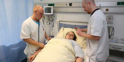 Die Teilnehmer hatten die Möglichkeit, das Rheinisch-westfälische Zentrum für Frührehabilitation und Beatmung (RWZFB) zu besichtigen.