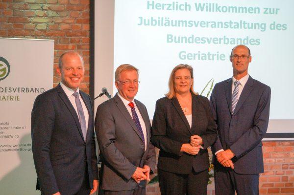 Jubiläumsfeier: 25-jähriges Bestehen des Bundesverbandes Geriatrie e.V.