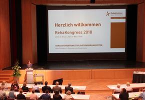 """RehaKongress 2018: Zwei Tage intensiver Austausch zur """"Herausforderung Zivilisationskrankheiten"""""""