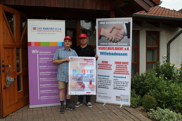 "Veranstaltung zum Thema ""BUNTE PILLEN ALS HEILSBRINGER!?! - Medikamentensucht und Medikamentenmissbrauch"" am 08. September 2018"