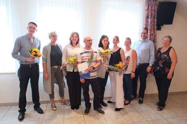 MEDIAN Heinrich-Mann-Klinik bildet fünf neue Altenpfleger aus
