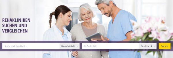 Mit Qualitätskliniken.de die passende Reha-Klinik finden Such- und Vergleichsportal für Rehakliniken mit neuen Funktionen