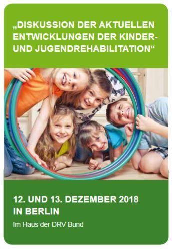 Jahrestagung zur Rehabilitation von Kindern & Jugendlichen am 12./13. Dezember in Berlin