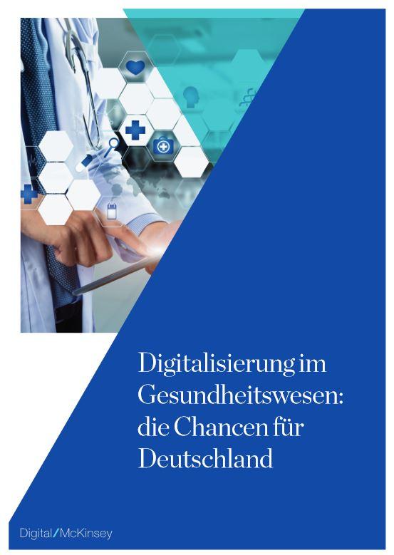 Digitalisierung im Gesundheitswesen: die Chancen für Deutschland