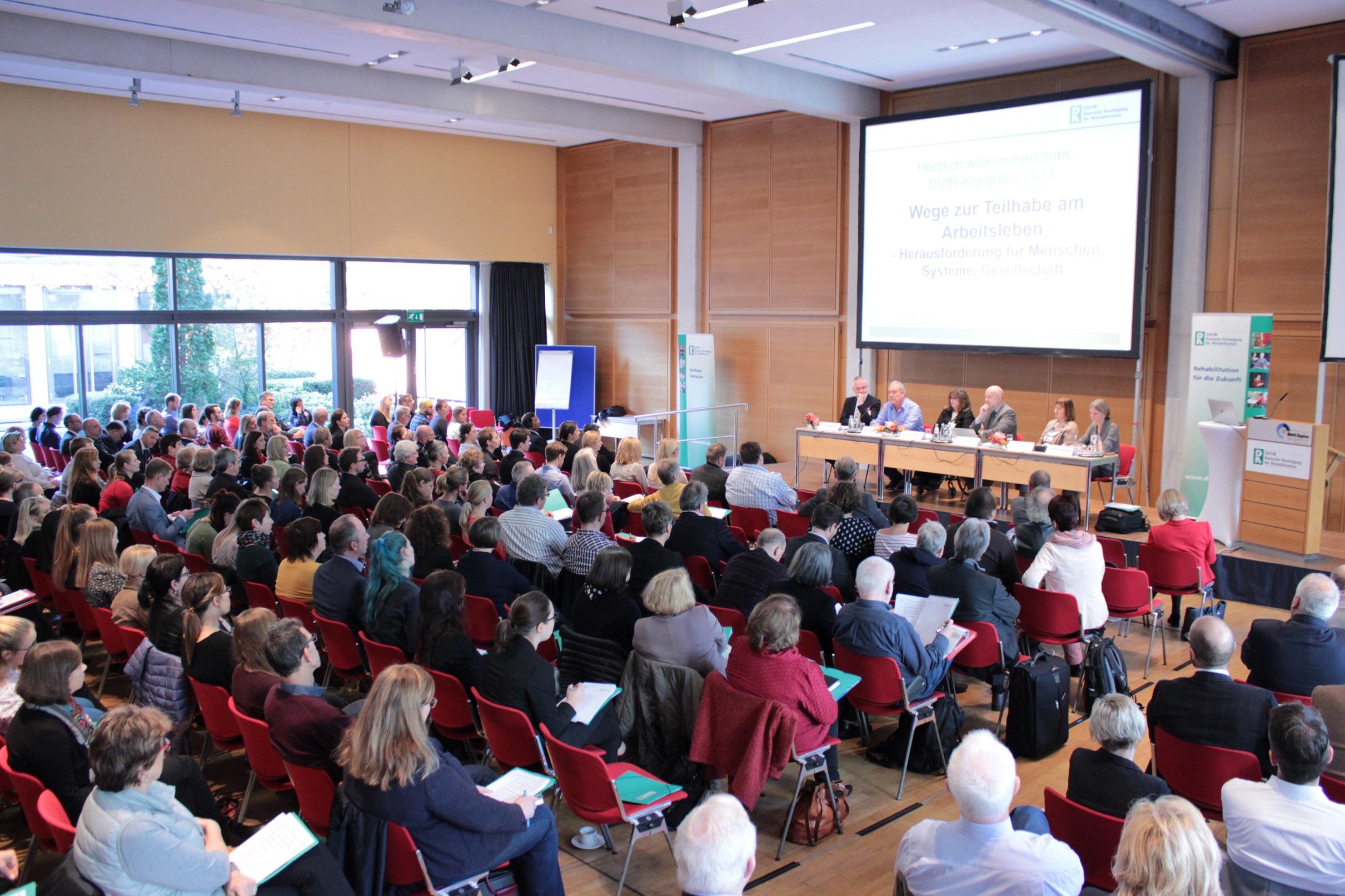 Podiumsgespräch beim DVfR-Kongress 2018 (Quelle: DVfR)