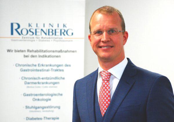 Klinik Rosenberg der Deutschen Rentenversicherung Westfalen: Ralf Prumann ist neuer Verwaltungsdirektor