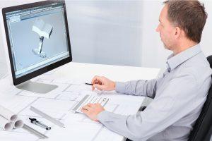 In den Konstruktions- und Entwicklungsabteilungen von Industrieunternehmen sind Technische Produktdesigner gesuchte Fachleute. © AndreyPopov; Thinkstockphotos