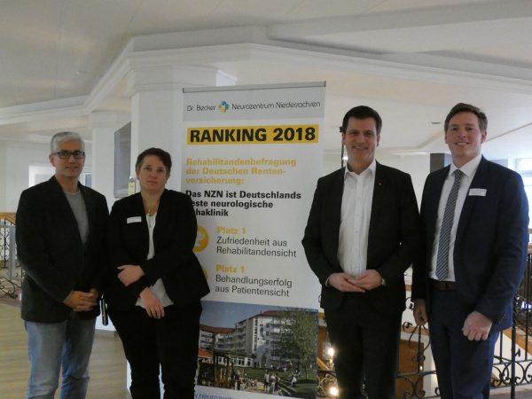 Politische Unterstützung für Dr. Becker Neurozentrum Niedersachsen
