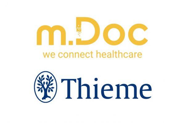 Thieme beteiligt sich an der digitalen Gesundheitsplattform m.Doc