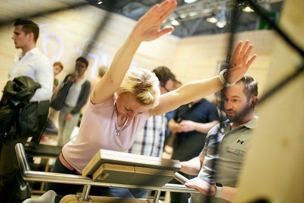 Durch Bewegung die Gesundheit stärken: FIBO bietet größtes Angebot für Physiotherapeuten