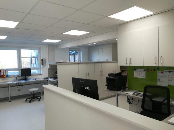 Neue Stationszimmer in der Dr. Becker Kiliani-Klinik