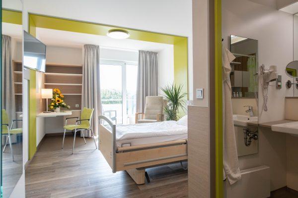 Dr. Becker Rhein-Sieg-Klinik investiert knapp 1 Millionen € in Patientenzimmer