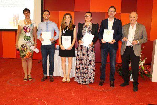 Herzstiftung und DGPR verleihen Wissenschaftspreis der Kurt und Erika Palm-Stiftung