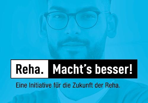 """Reha. Macht's besser."""" – Paracelsus-Kliniken unterstützen gemeinsame Kampagne zur Stärkung der Rehabilitation"""
