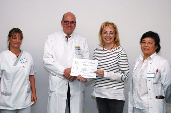 MEDIAN Klinik Berlin-Kladow erhält als erste Berliner Reha-Einrichtung MRE-Qualitätssiegel