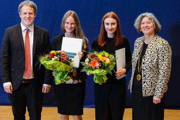 Stiftung-Schmieder-Preis 2019 an zwei Nachwuchswissenschaftlerinnen verliehen