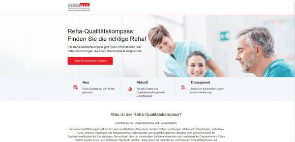 DEGEMED startet Portal für Reha-Qualitätskompass