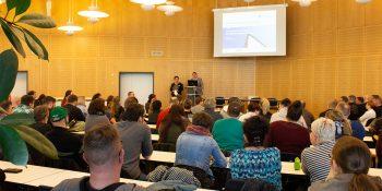 Hohe Erwartungen an die nächsten 24 Monate Umschulung. Durchstarten in einen neuen Beruf für 153 Teilnehmerinnen und Teilnehmer. © M. Lindner, BFW Leipzig