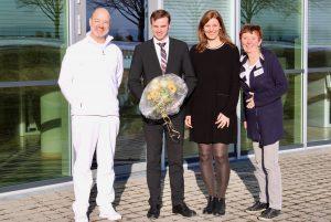 Begrüßung von Ralf Markus Ruchlak in der Rehaklinik Sonnhalde