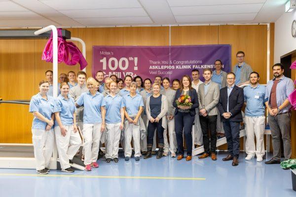 ASKLEPIOS Neurologische Klinik Falkenstein erhält 100. Laufband (C-Mill VR+) weltweit