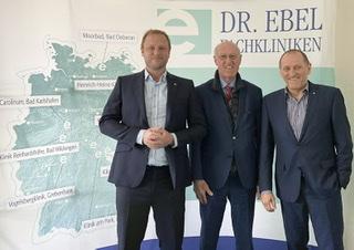 Thomas Bold wechselt in die Geschäftsführung der Dr. Ebel Fachkliniken