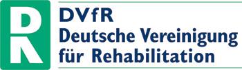 Logo Deutsche Vereinigung für Rehabilitation DVfR