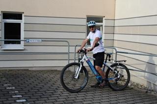 Die ASKLEPIOS Neurologische Klinik Falkenstein zeigt ihre sportliche Seite zum Weltfahrradtag