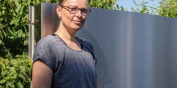Katrin Joost hat am 23. Juni 2020 mit weiteren 100 Teilnehmerinnen und Teilnehmern ihre zweijährige Umschulung im BFW Leipzig begonnen © M. Lindner, BFW Leipzig