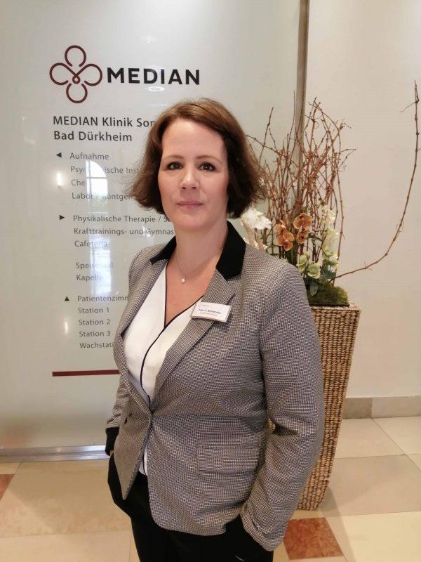 Carola Bohlender ist neue Kaufmännische Leiterin der MEDIAN Kliniken Sonnenwende und Rhein-Haardt-Klinik in Bad Dürkheim