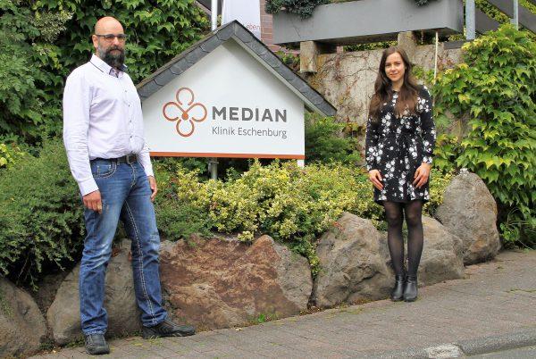MEDIAN Klinik Eschenburg stellt sich mit Julia Handt und Said Hooboty Fard neu auf