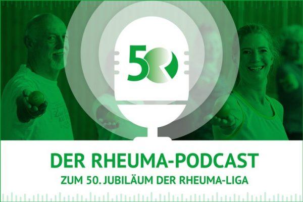 Podcast zum 50jährigen Jubiläum der Deutschen Rheuma-Liga erschienen