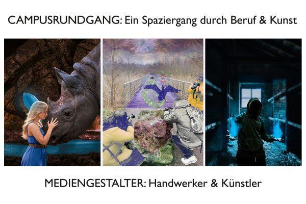 Das BFW Leipzig lädt anlässlich der 11. Nacht der Kunst zu einem Campusrundgang ein. © Verschiedene Künstler, BFW Leipzig
