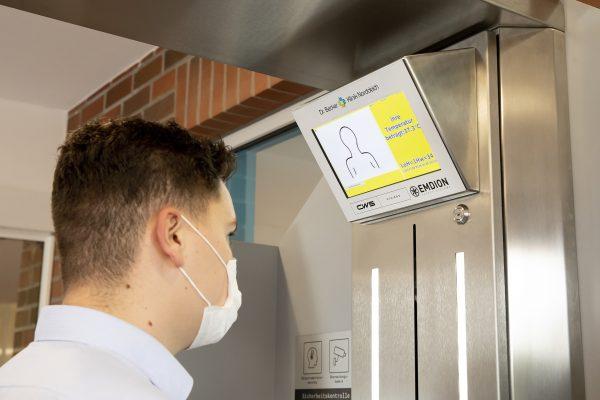 CWS, Emdion und Dr. Becker Klinik Norddeich testen digitalen Hygiene-Checkpoint für Klinikgäste