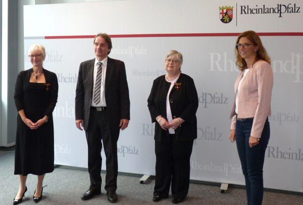 Prof. Dr. Wilma Funke von der MEDIAN Klinik Wied erhält Bundesverdienstorden